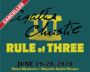 Agatha Christie's The Rule of Three @ The Majestic Studio Theatre